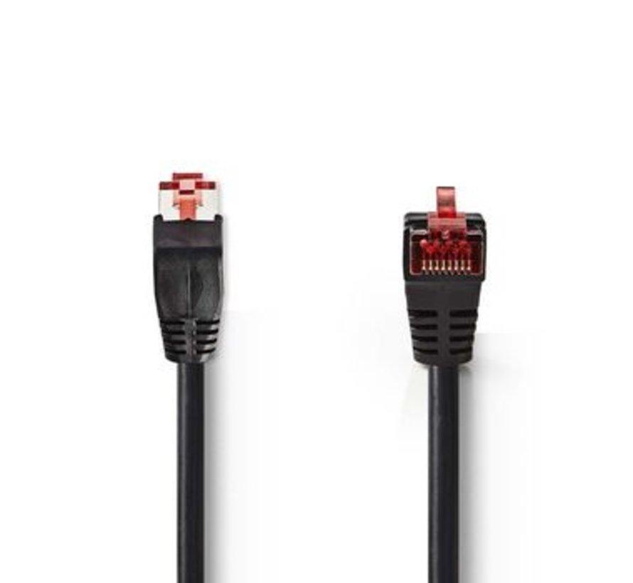 CAT6 SF/UTP-Netwerkkabel | RJ45 Male - RJ45 Male | 10 m | Zwart