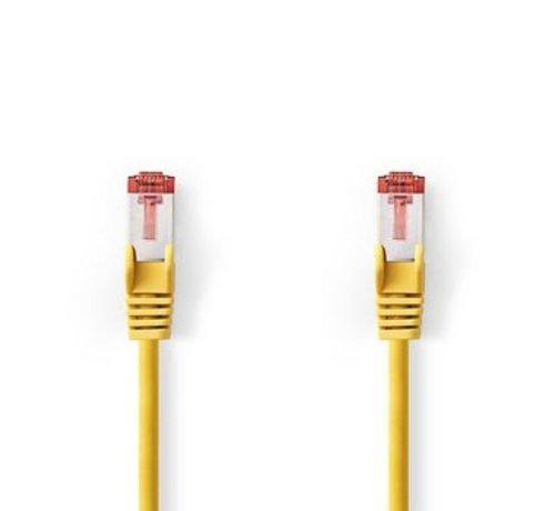 Nedis CAT6 S/FTP-Netwerkkabel | RJ45 Male - RJ45 Male | 5,0 m | Geel