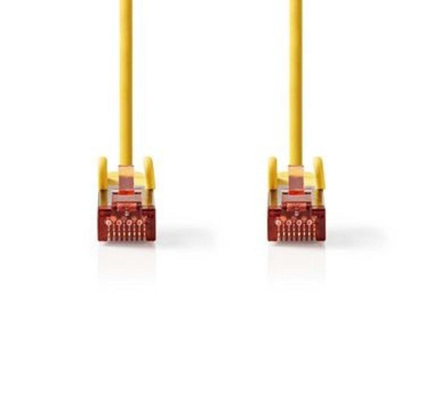 CAT6 S/FTP-Netwerkkabel | RJ45 Male - RJ45 Male | 5,0 m | Geel