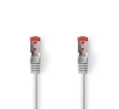 Nedis CAT6-kabel | RJ45 (8P8C) Male | RJ45 (8P8C) Male | SF/UTP | 30.0 m | Rond | PVC LSZH | Grijs | Polybag