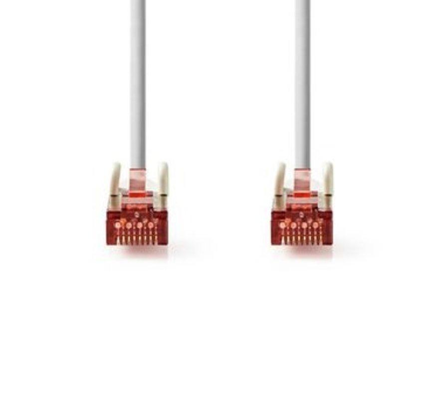 CAT6 S/FTP-Netwerkkabel | RJ45 Male - RJ45 Male | 1,0 m | Grijs