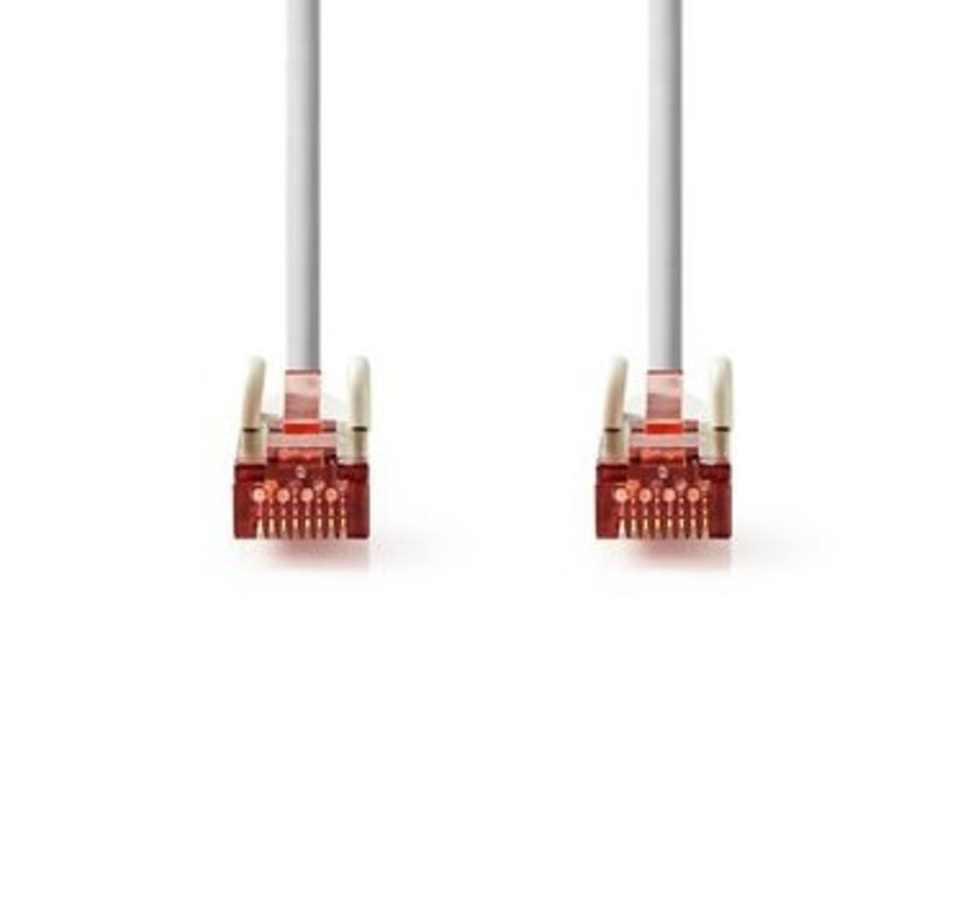 CAT6-kabel   RJ45 (8P8C) Male   RJ45 (8P8C) Male   SF/UTP   0.50 m   Rond   PVC LSZH   Grijs   Polybag