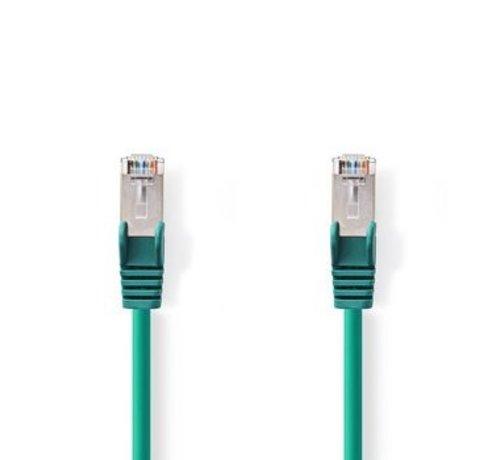 Nedis CAT6-kabel | RJ45 (8P8C) Male | RJ45 (8P8C) Male | SF/UTP | 30.0 m | Rond | PVC LSZH | Groen | Polybag