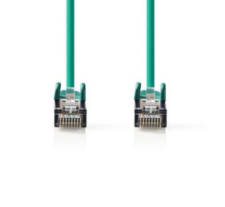 CAT6 S/FTP-Netwerkkabel   RJ45 Male - RJ45 Male   1,0 m   Groen
