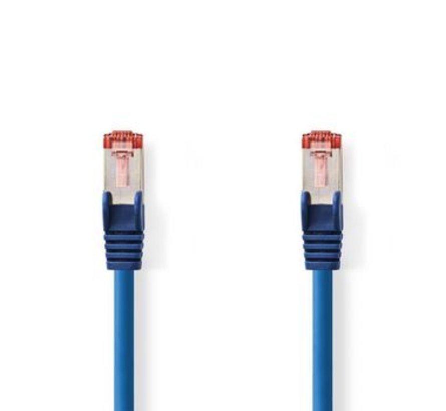 CAT6 S/FTP-Netwerkkabel   RJ45 Male - RJ45 Male   5,0 m   Blauw