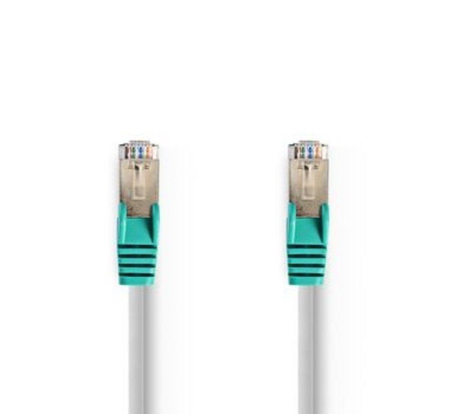 CAT5e SF/UTP Crossover-Netwerkkabel | RJ45 Male - RJ45 Male | 3,0 m | Grijs