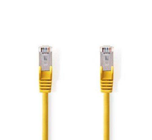 Nedis CAT5e SF/UTP-Netwerkkabel | RJ45 Male - RJ45 Male | 2,0 m | Geel