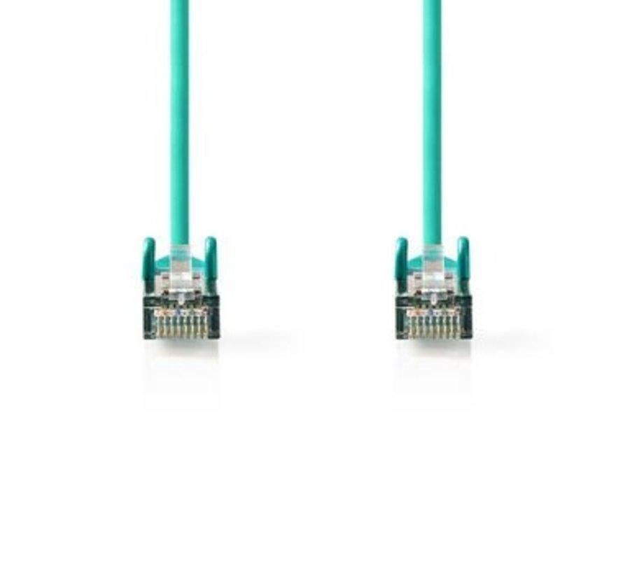 CAT5e SF/UTP-Netwerkkabel | RJ45 Male - RJ45 Male | 15 m | Groen
