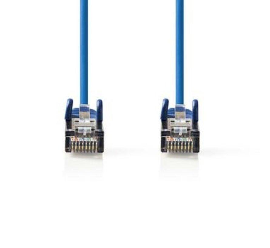 CAT5e SF/UTP-Netwerkkabel | RJ45 Male - RJ45 Male | 0,25 m | Blauw