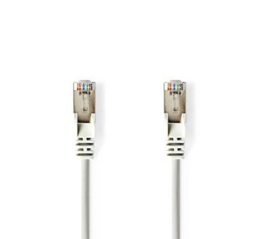 CAT5e F/UTP-Netwerkkabel | RJ45 Male - RJ45 Male | 5,0 m | Grijs