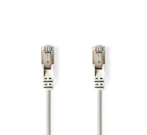Nedis CAT5e-Kabel | S/UTP | RJ45 (8P8C) Male | RJ45 (8P8C) Male | 2.00 m | Rond | PVC LSZH | Grijs | Polybag