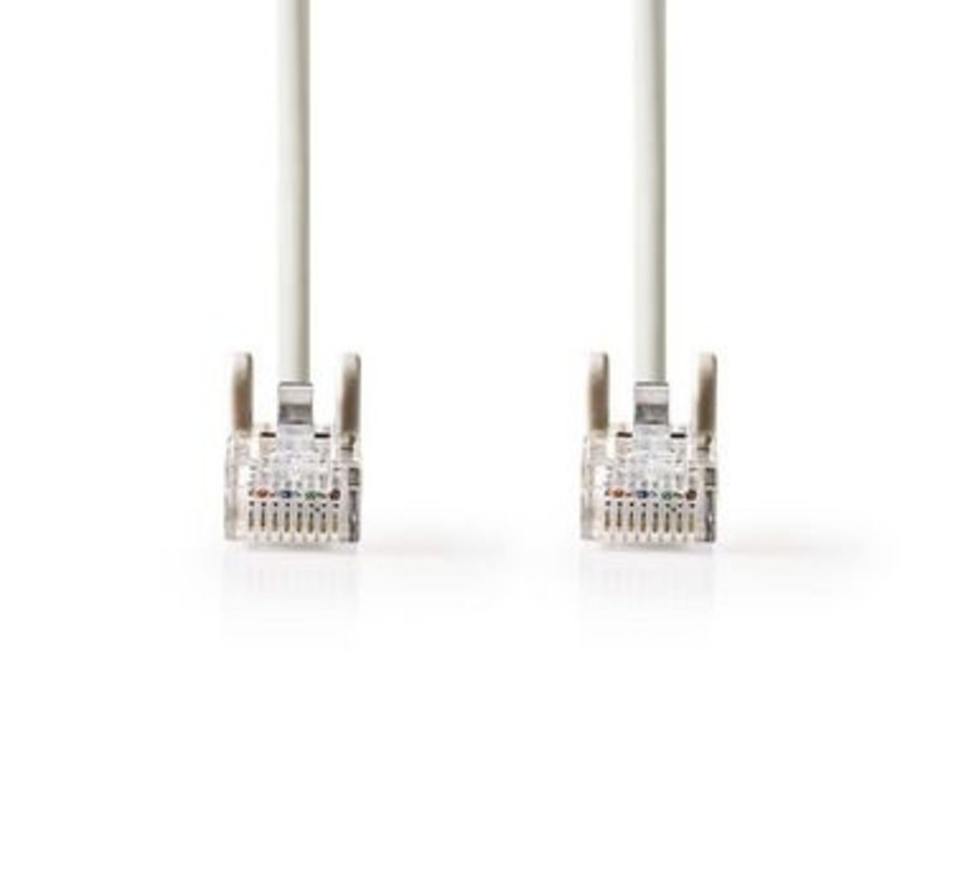 CAT5e UTP-Netwerkkabel | RJ45 Male - RJ45 Male | 2,0 m | Grijs