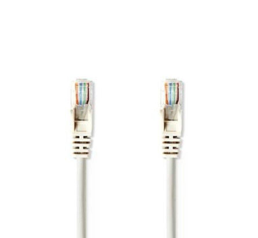 CAT5e UTP-Netwerkkabel | RJ45 Male - RJ45 Male | 1,0 m | Grijs