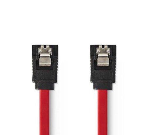 Nedis Datakabel SATA 1,5 Gb/s | SATA 7-Pins Female - SATA 7-Pins Female | 0,5 m | Rood