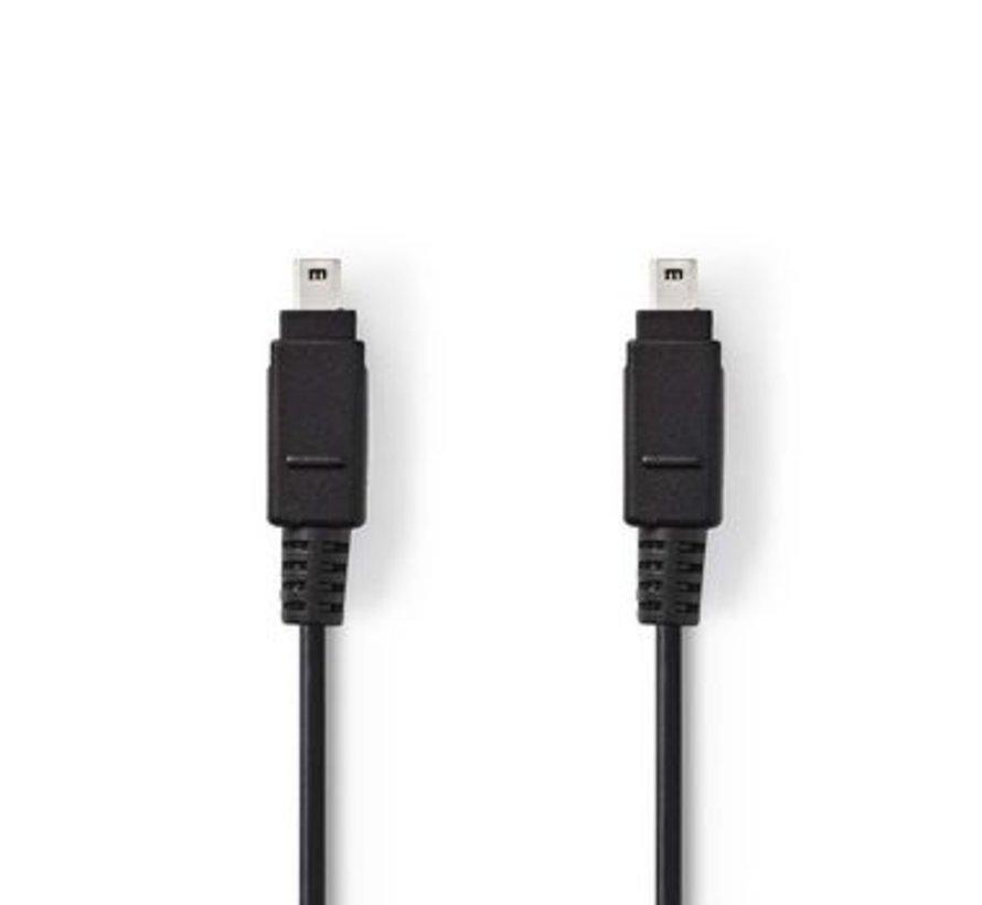 FireWire-Kabel   4-Pins Male - 4-Pins Male   2,0 m   Zwart