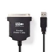 Nedis Printerkabel USB | USB-A Male - Centronics 36-Pins Male | 2,0 m | Zwart