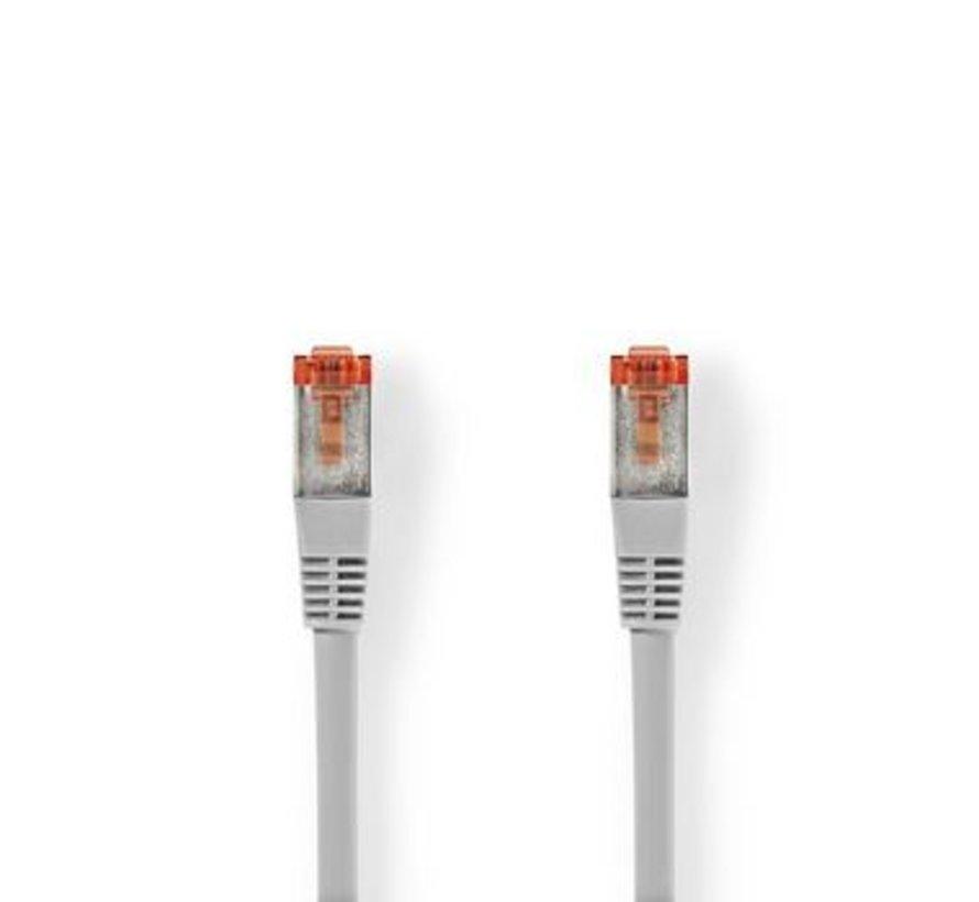 CAT6 S/FTP-Netwerkkabel   RJ45 (8P8C) Male - RJ45 (8P8C) Male   1,5 m   Grijs