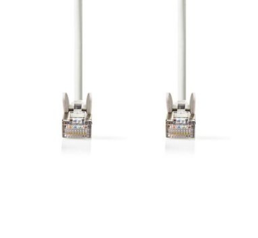 Netwerkkabel CAT5e SF/UTP | RJ45 (8P8C) male - RJ45 (8P8C) male | 5,0 m | Wit