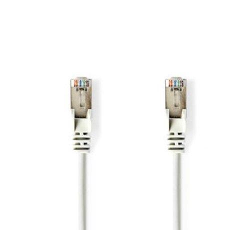 Nedis CAT5e-Kabel   SF/UTP   RJ45 (8P8C) Male   RJ45 (8P8C) Male   3.00 m   Rond   PVC   Wit   Blister