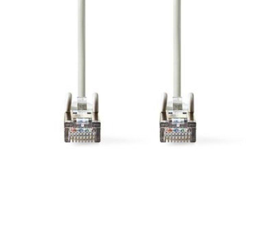 CAT5e SF/UTP-Netwerkkabel | RJ45 (8P8C) Male - RJ45 (8P8C) Male | 10 m | Grijs