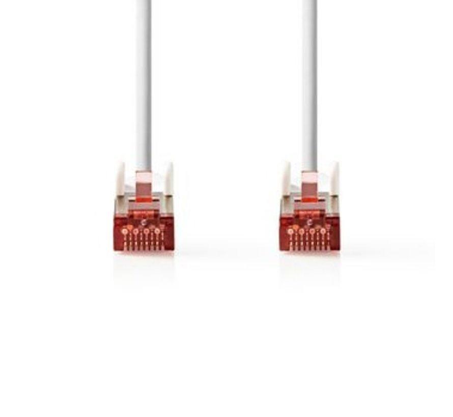Netwerkkabel CAT6 S/FTP | RJ45 (8P8C) male - RJ45 (8P8C) male | 7,5 m | Wit