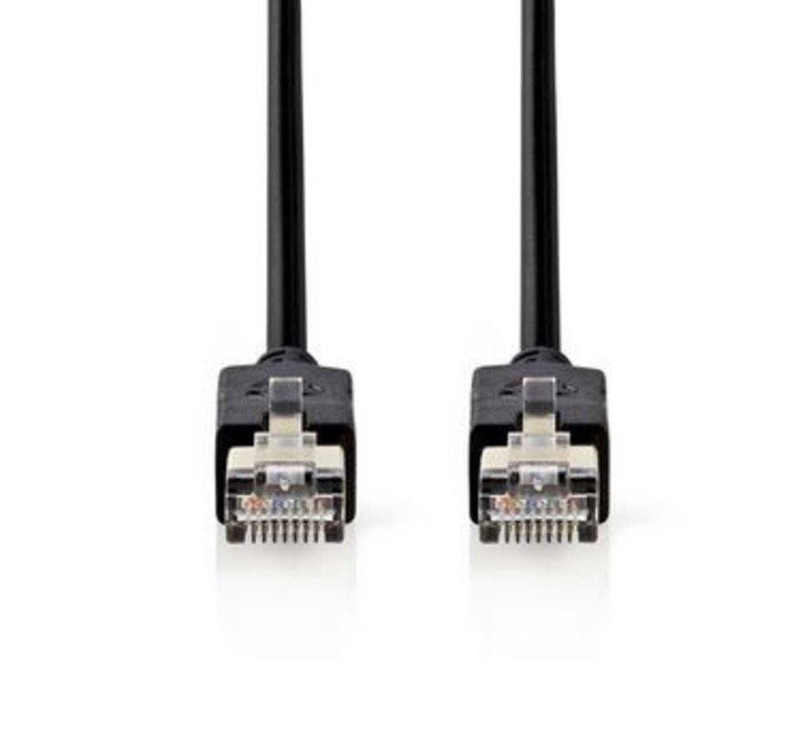 Cat 6 F/UTP-netwerkkabel | RJ45 (8P8C) male - RJ45 (8P8C) male | 15 m | Antraciet