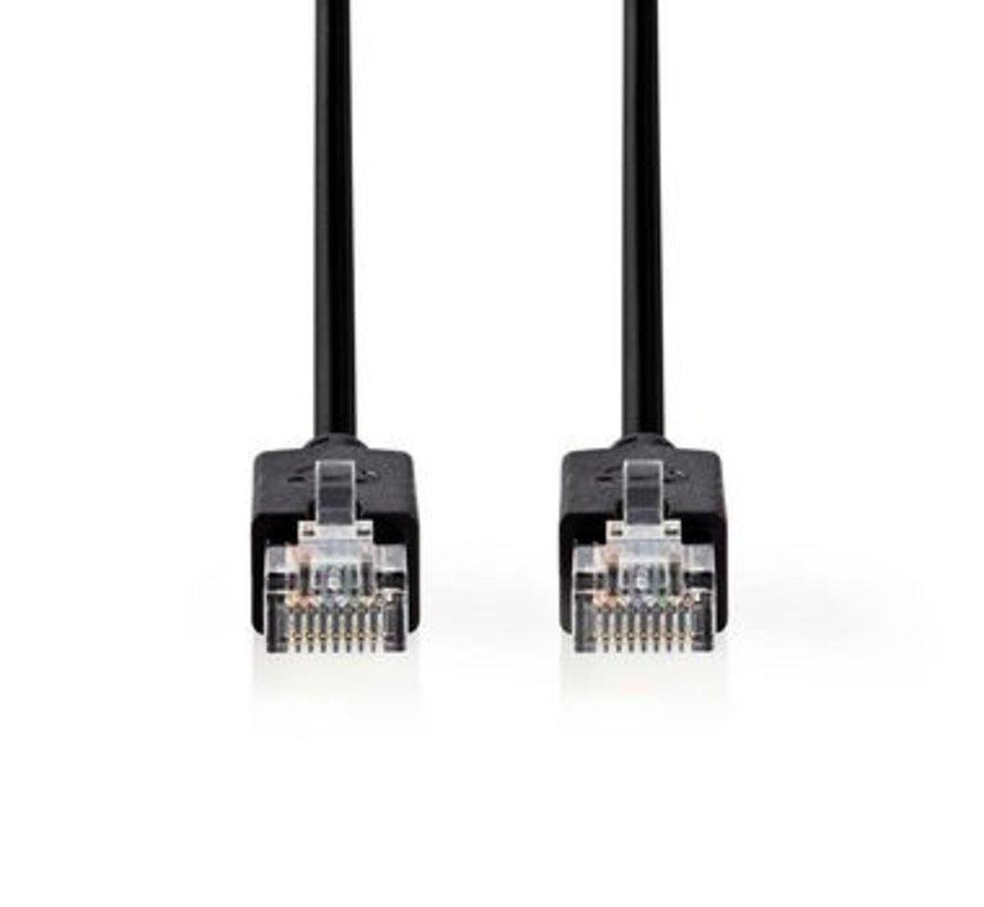 CAT5e-Kabel | UTP | RJ45 (8P8C) Male | RJ45 (8P8C) Male | 20.0 m | Rond | LSZH | Antraciet | Window Box