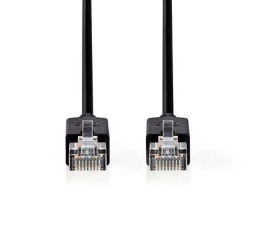 CAT5e-Kabel | UTP | RJ45 (8P8C) Male | RJ45 (8P8C) Male | 15.0 m | Rond | LSZH | Antraciet | Window Box