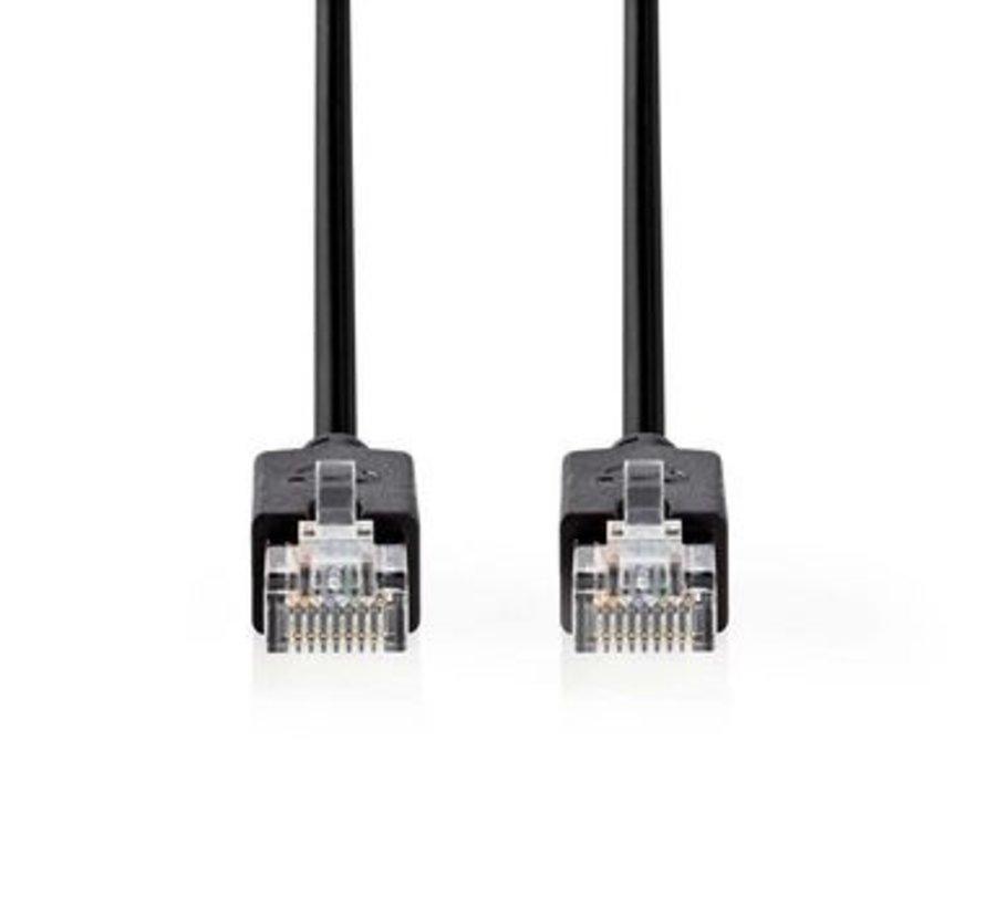 Cat 5e UTP-netwerkkabel | RJ45 (8P8C) male - RJ45 (8P8C) male | 3,0 m | Antraciet