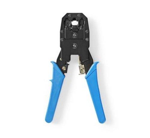 Nedis Krimptang voor RJ45 - RJ11 - RJ10 blauw