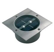 Solar Grondspot 2 LED Vierkant