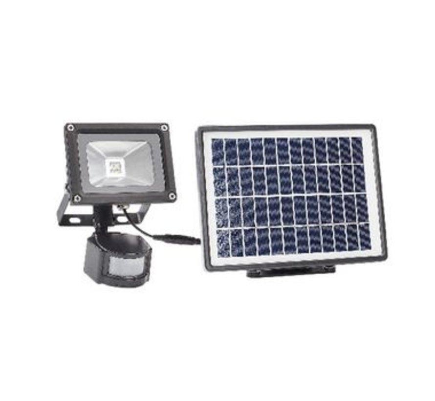 LED Floodlight met Sensor 3 W 550 lm Zwart