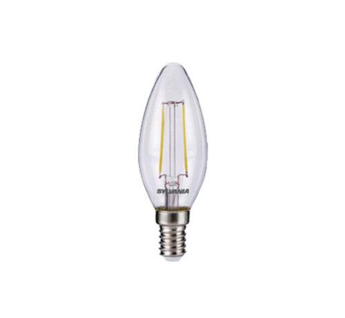 LED Vintage Filamentlamp Kaars 2.5 W 250 lm 2700 K
