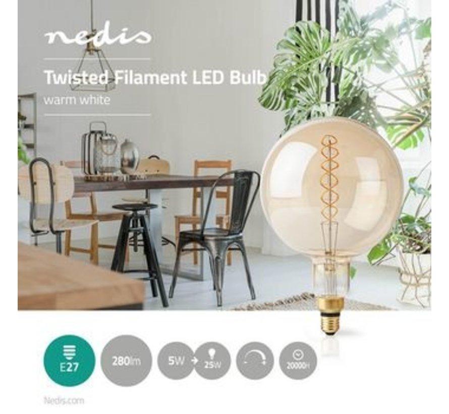 Retro LED-lamp Met Filament E27   5 W   280 lm   2000 K