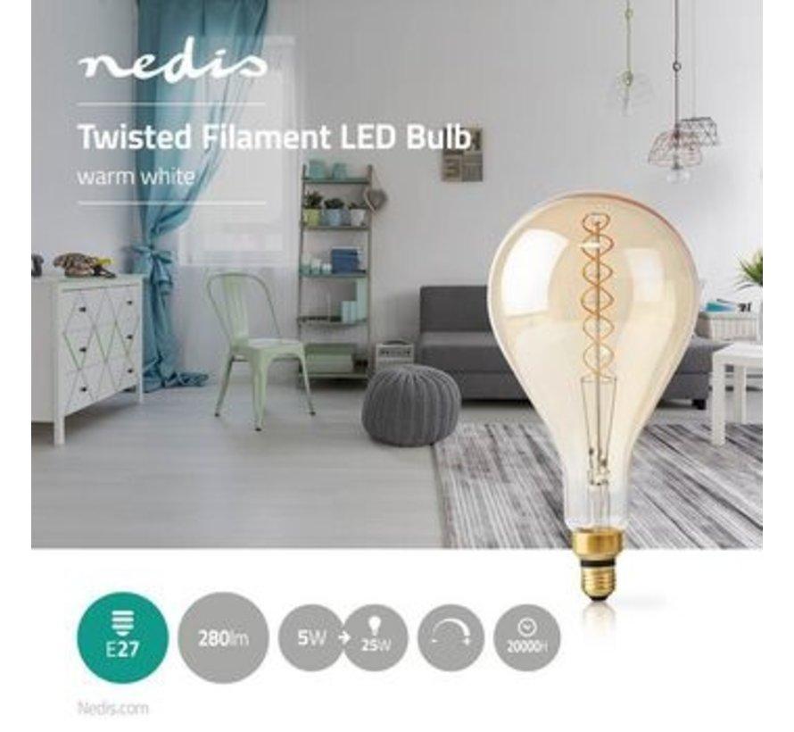 Retro LED-lamp Met Filament E27 | 5 W | 280 lm | 2000 K
