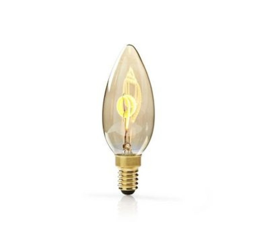 Dimbare vintage LED-gloeilamp E14 | Kaars | 3 W | 100 lm