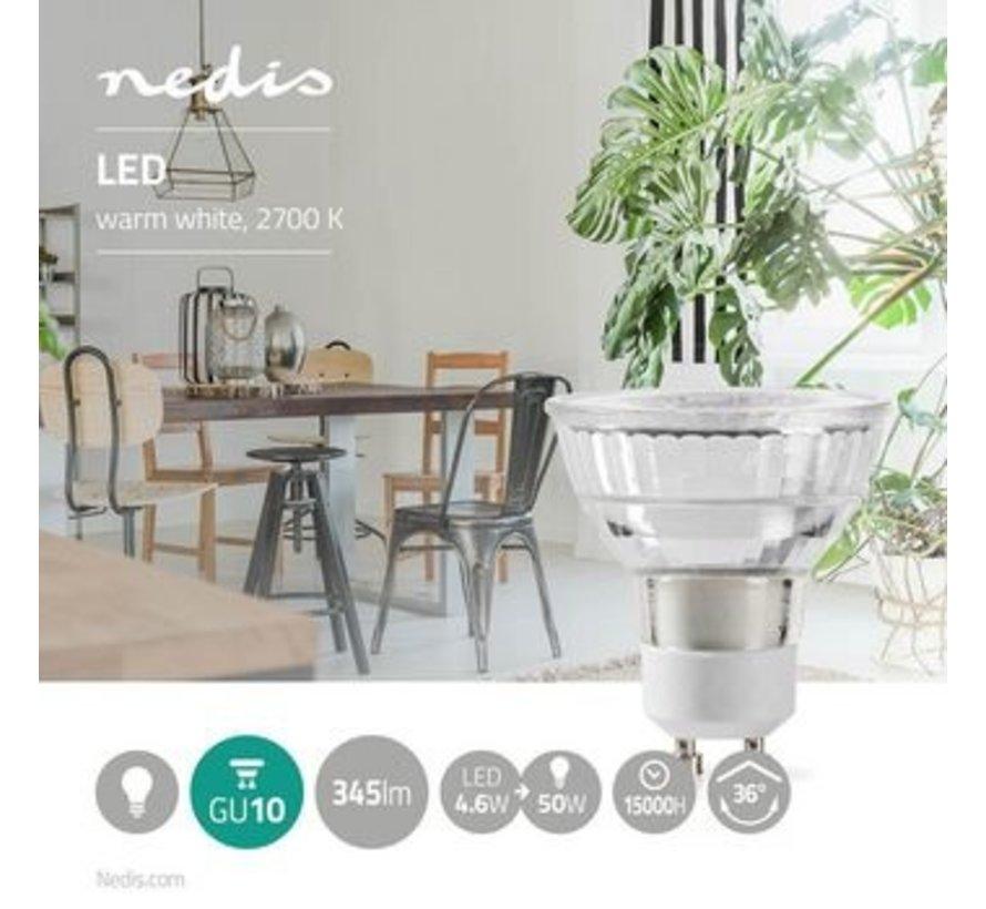 LED-Lamp GU10 | Par 16 | 4,8 W | 345 lm