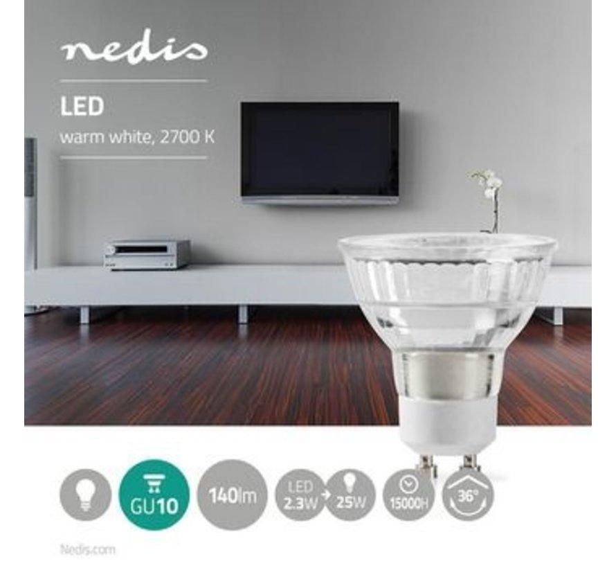 LED-Lamp GU10 | Par 16 | 2,3 W | 140 lm