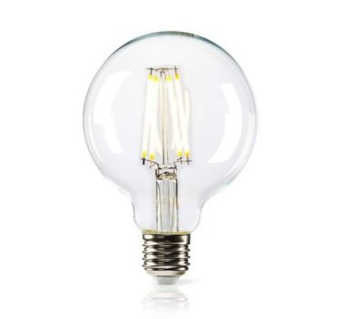 Nedis Dimbare retro LED-gloeilamp E27 | G95 | 8,3 W | 806 lm