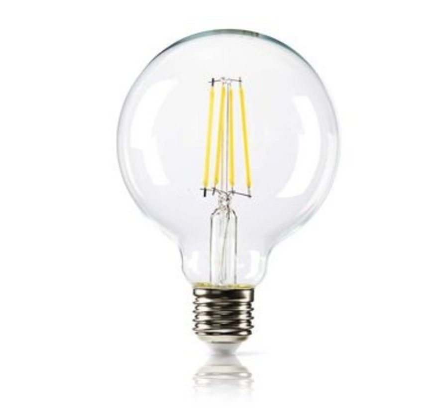 Dimbare retro LED-gloeilamp E27 | G95 | 8,3 W | 806 lm