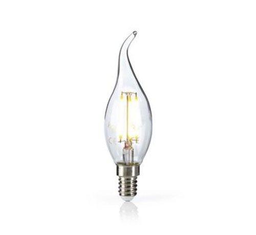 Nedis Retro LED-gloeilamp E14 | Kaars met gebogen punt | 4,8 W | 470 lm