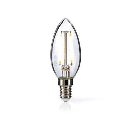 Nedis Retro LED-gloeilamp E14 | Kaars | 2,5 W | 250 lm