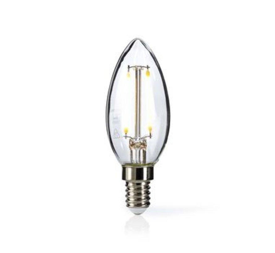 Retro LED-gloeilamp E14 | Kaars | 2,5 W | 250 lm