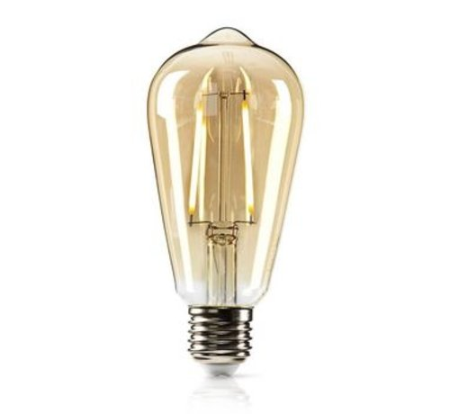 Nedis Dimbare retro LED-gloeilamp E27 | ST64 | 5,4 W | 380 lm