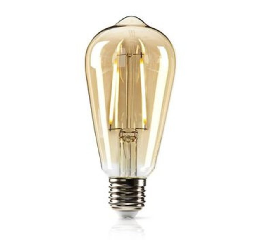 Dimbare retro LED-gloeilamp E27 | ST64 | 5,4 W | 380 lm