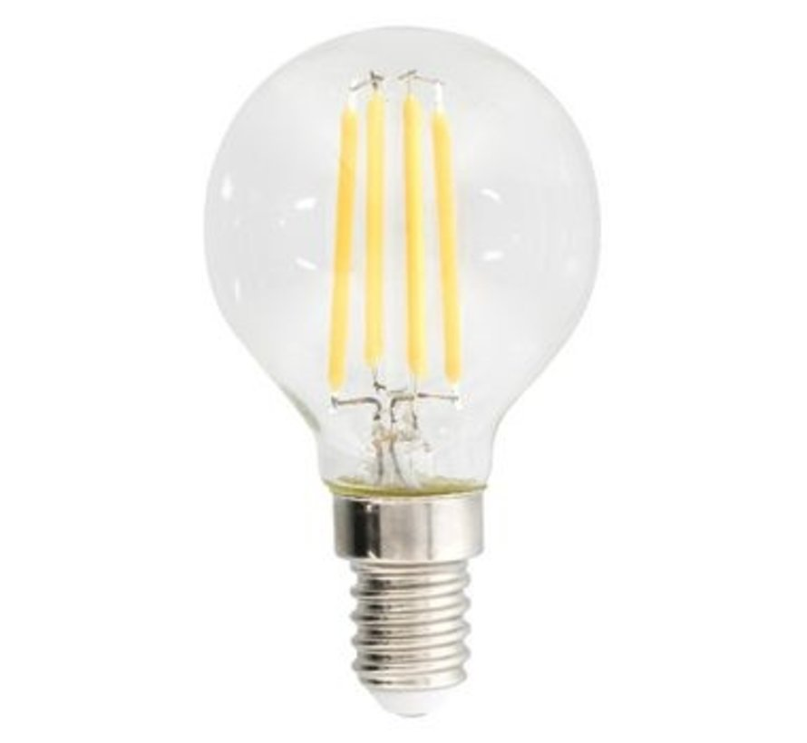 LED Vintage Filamentlamp Mini Globe 4.8 W 470 lm 2700 K
