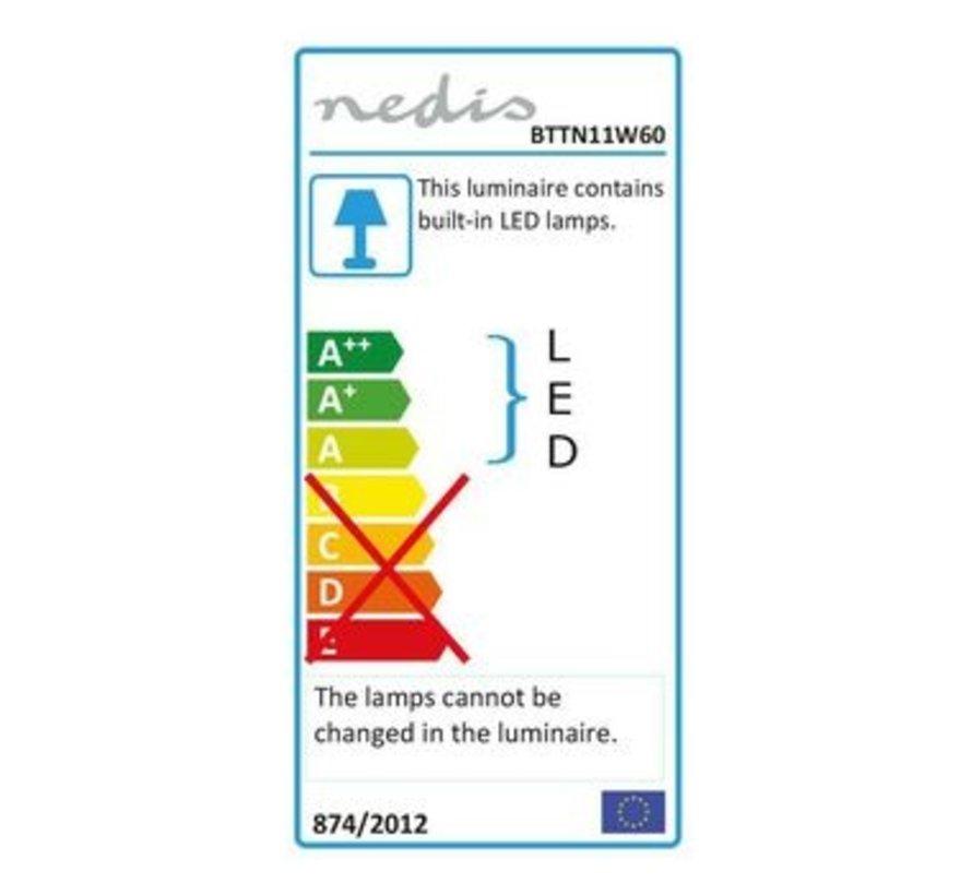 LED-Armatuur Batten   11 W   1050 lm   IP65   60 cm
