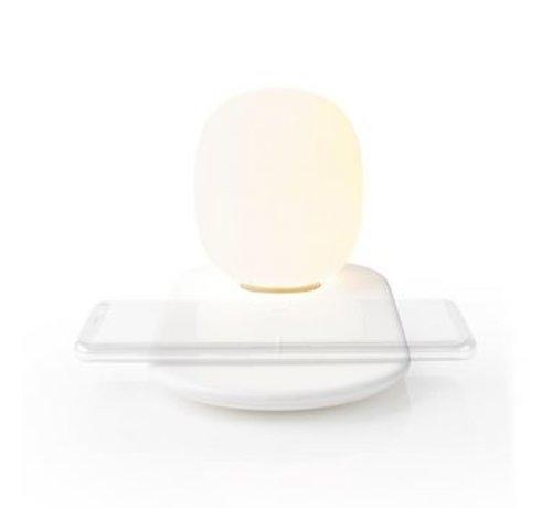 Nedis LED-Nachtlamp met Touch-Bediening | Draadloze Qi-Lader voor Smartphone | 10 W