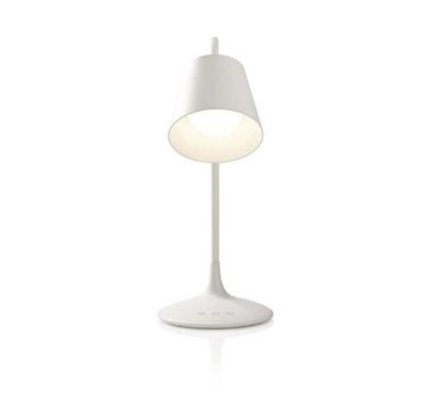 Dimbare LED-tafellamp | Aanraakbediening | 3 lichtmodi | Oplaadbare batterij | 150 lm