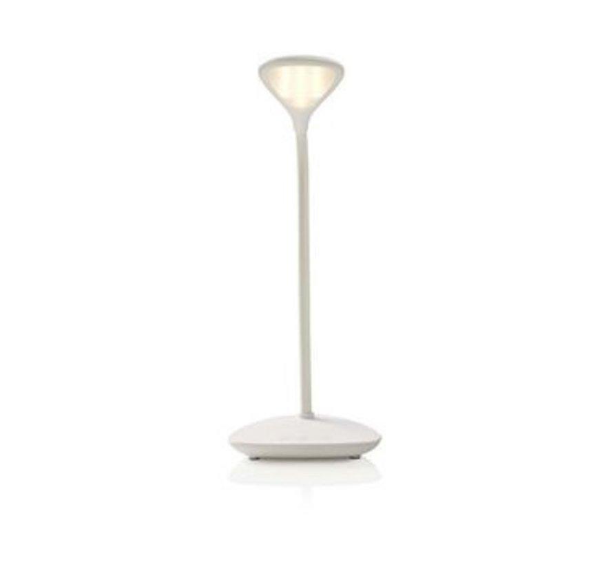 Dimbare LED-tafellamp   Aanraakbediening   3 lichtmodi   Oplaadbare batterij   250 lm